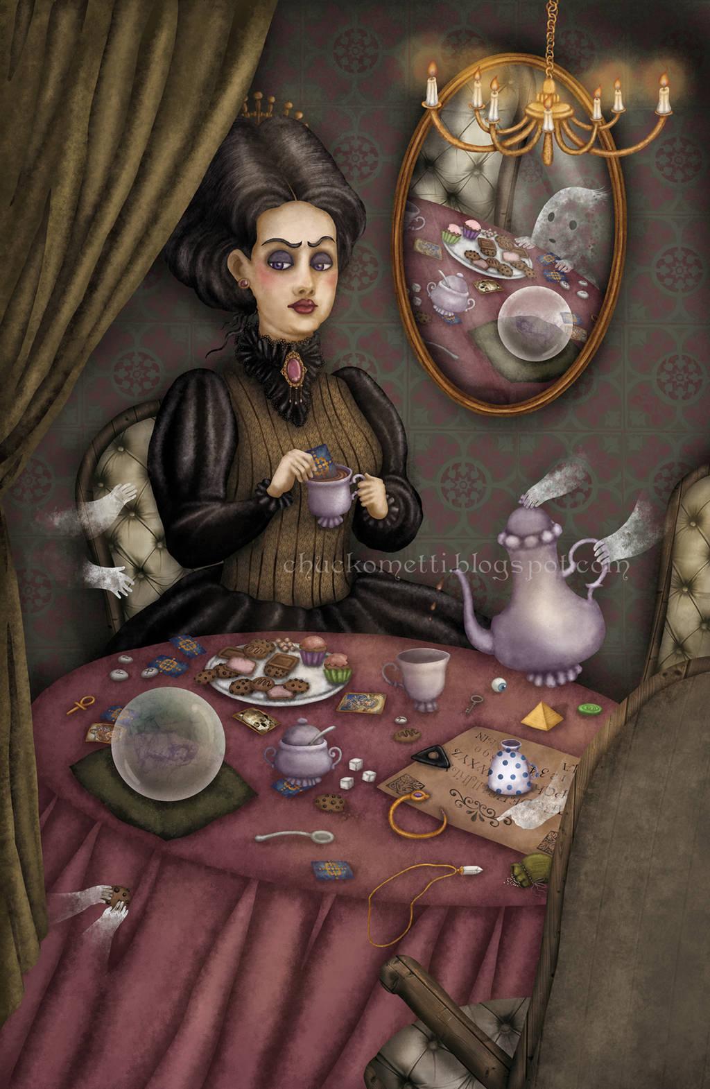Madame Samovar by chuckometti