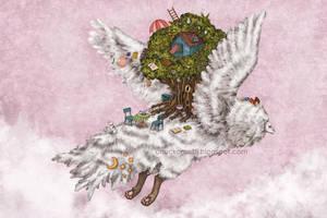 A Long Flight by chuckometti
