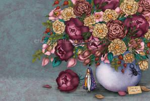 Saint Mary of the Roses by chuckometti