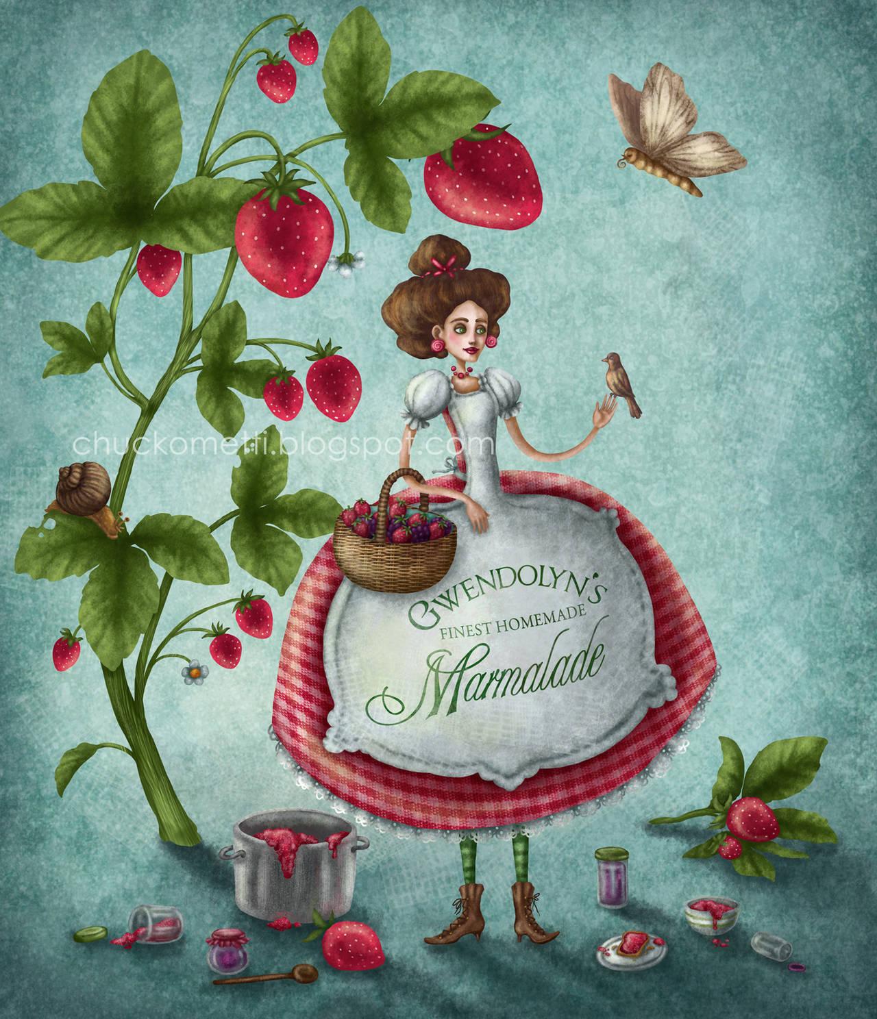 Strawberry Night by chuckometti
