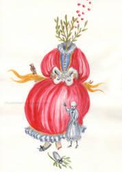 Her Dress by chuckometti