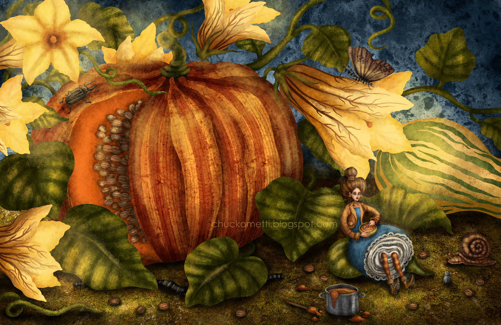 Pumpkin Soup by chuckometti