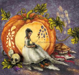A Pumpkin full of Light by chuckometti