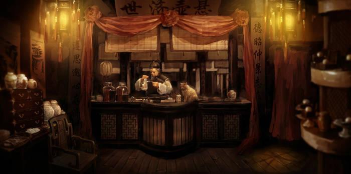 Pharmacy by youxiandaxia