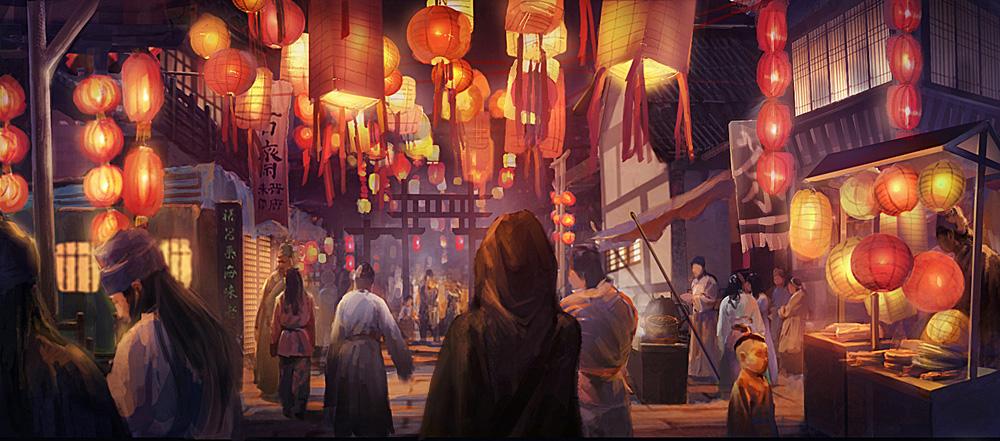 lantern show by youxiandaxia