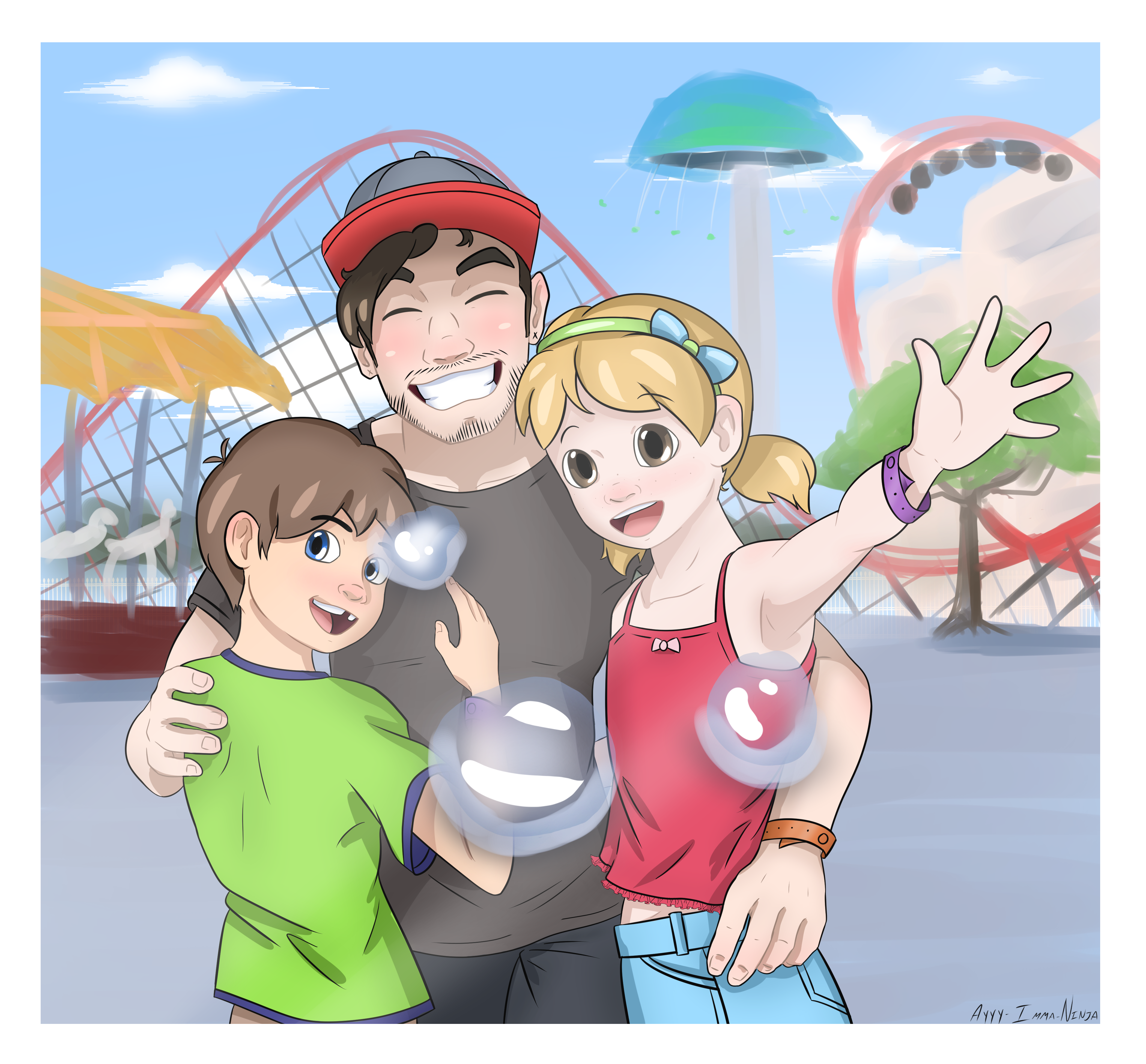 Happy Memories...Chase Brody and kids by Ayyy-Imma-Ninja ...