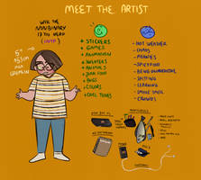 meet the artist by wikszyk