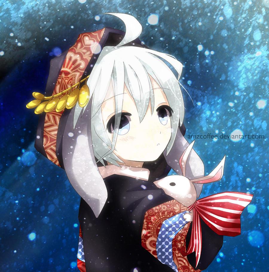 Snow Rabbit by amzcoffee