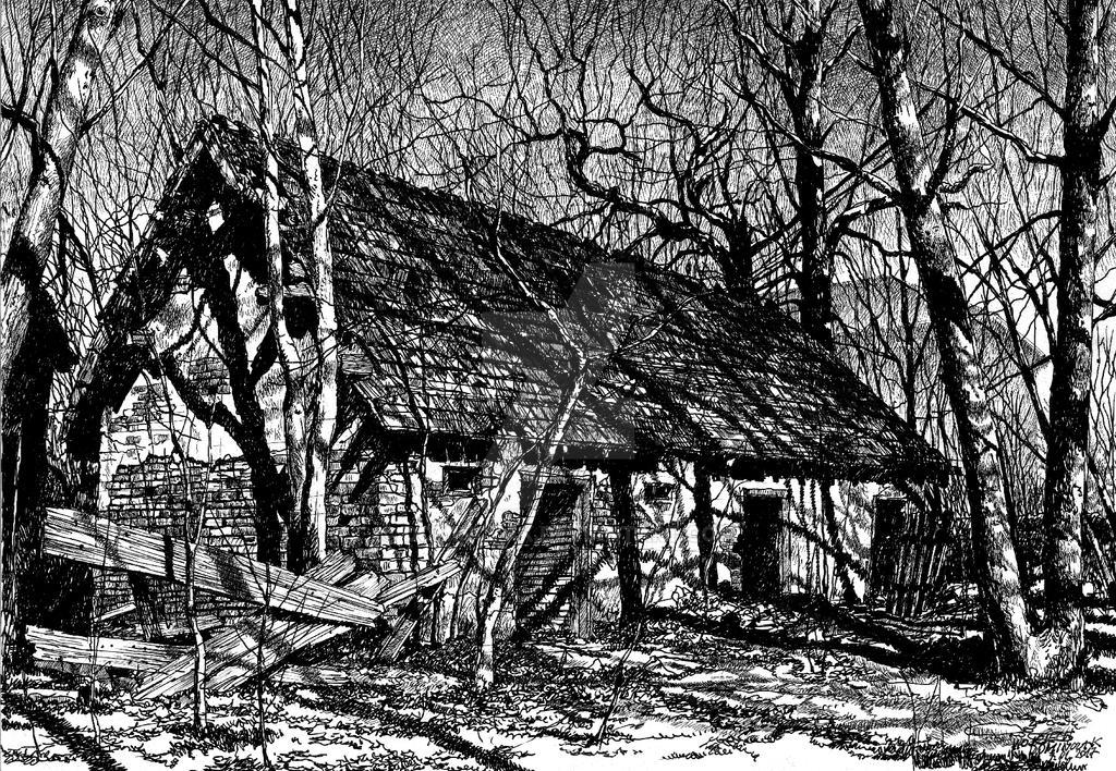 Old Presbytery by Dominczak