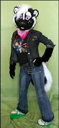 Lissa Skunk, again by jillcostumes