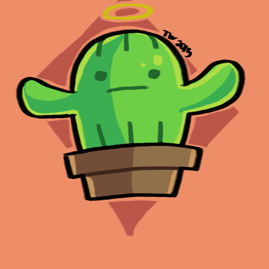 Cactus Angel by abyssalCompiler