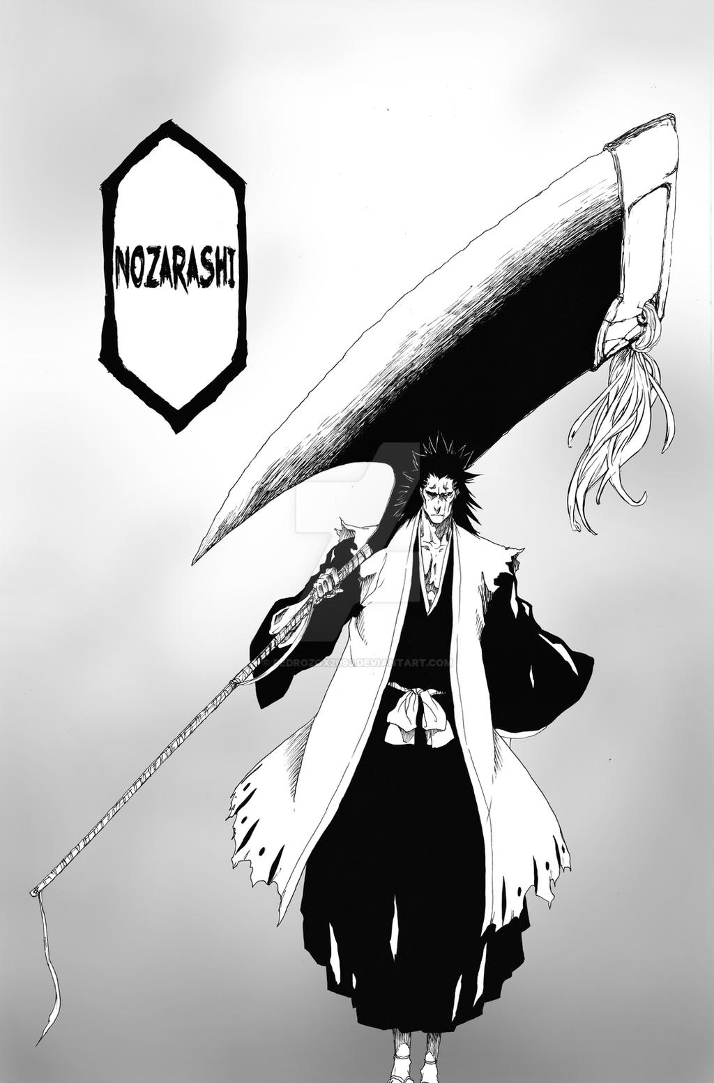 Bleach Kenpachi Nozarashi