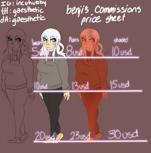 2021 Commissions OPEN