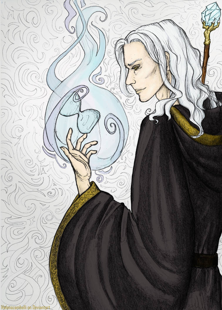 Raistlin Majere, the Hourglass Mage