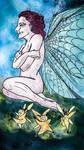 Secret joy - happy fairy by ElenaZambelli
