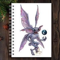 evil fairy drawcember