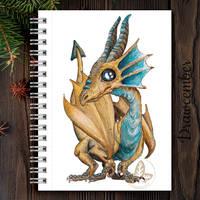 bronze crystal dragon