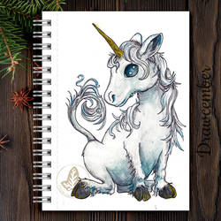 unicorn drawcember