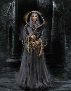 Raistlin - the invisibility spell