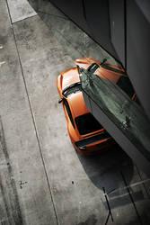 Porsche From Above by dlt2