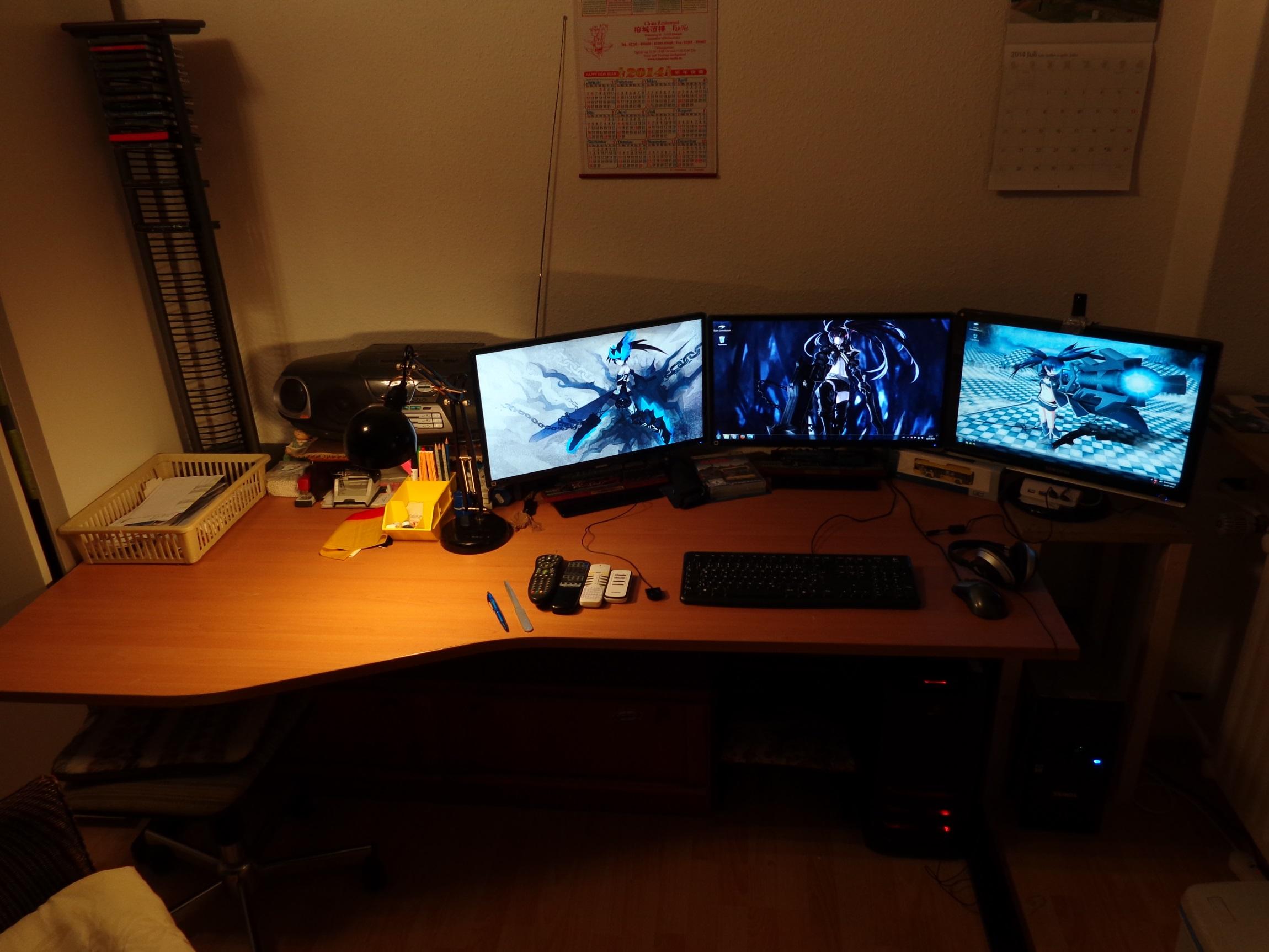 Mein Arbeitsplatz zu Hause / My workplace at home by goldie9478842 ...
