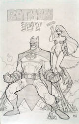 Batman and Ivy by p-r-i-a-p-u-s