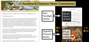 ~*~ Soundtrack/Character Music Commissions ~*~