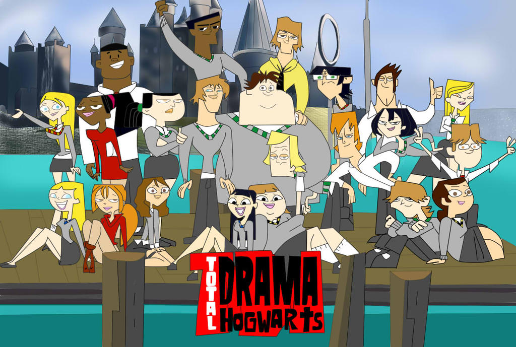 Total Drama Hogwarts by Alishu