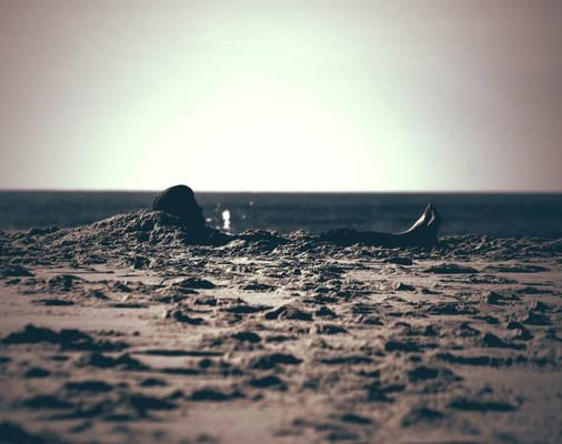Human Sandcastle.
