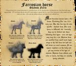 Farrosian Horse - Shadow Form by Efirende