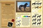 Duinen - Breed sheet by Efirende