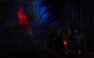 Night Hunt Flames by Efirende