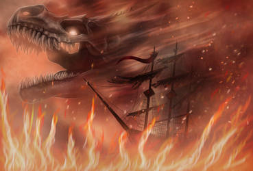 Cruise throught Flames by Efirende