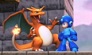 Charizard and Megaman