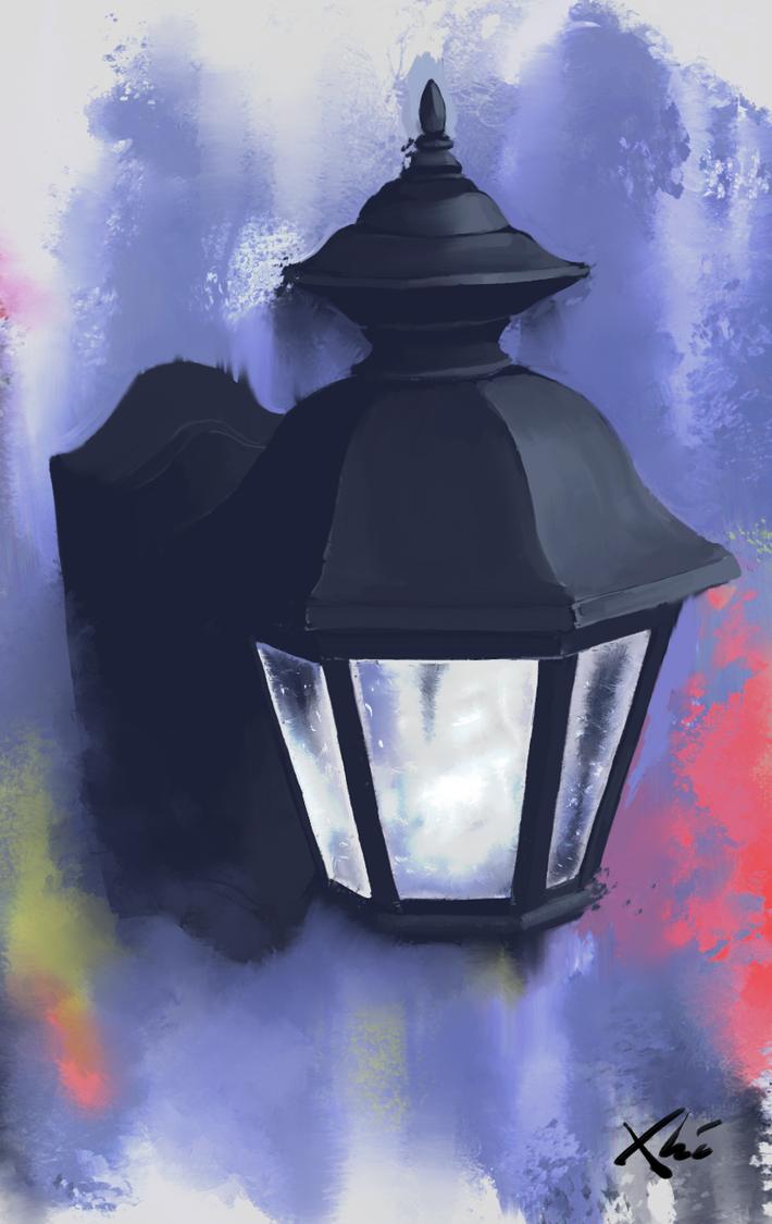 Lamp speedpaint by XHI