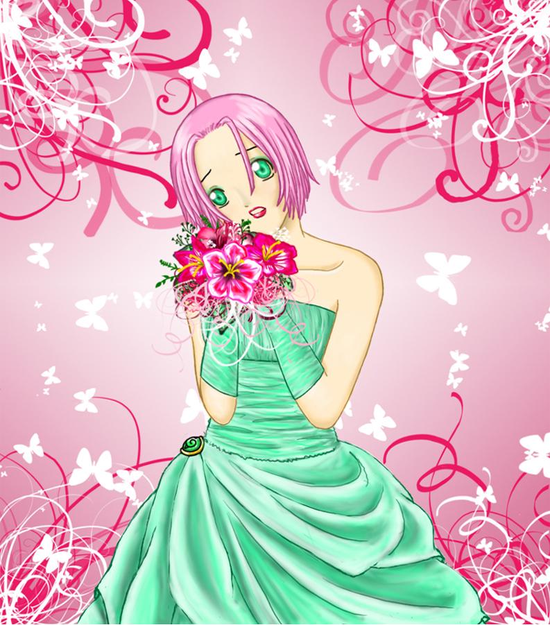 Sakura's wedding by BabeyAngel on DeviantArt