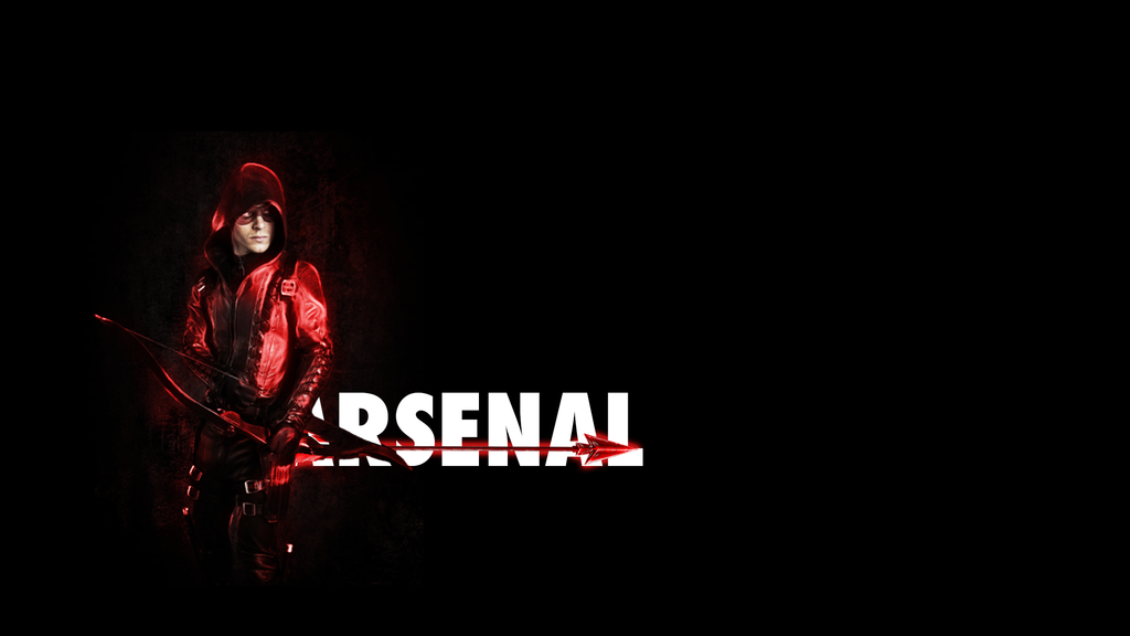 Wallpaper - Arrow - Arsenal by ticklingadragon on DeviantArt