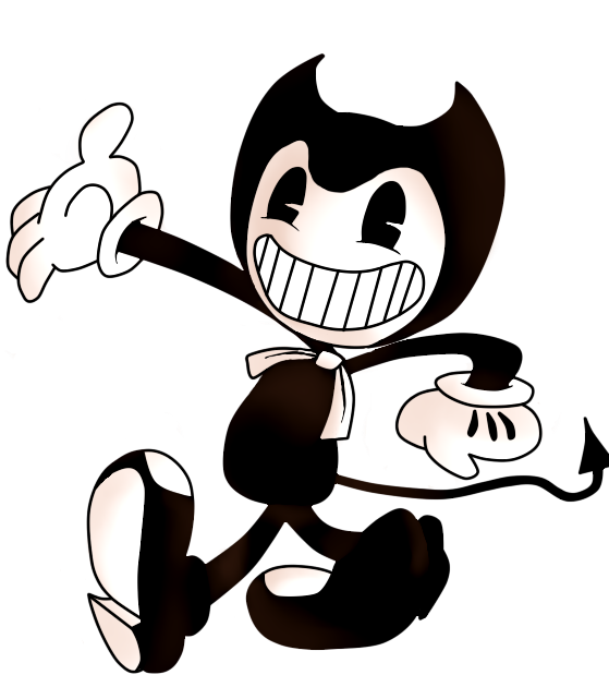 The dancing demon bendy and the ink machine by for Bendy and the ink machine coloring pages