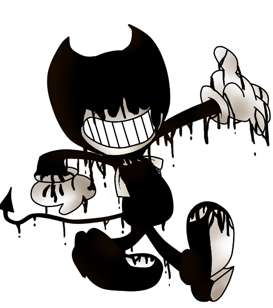bendy and the ink machine transparent