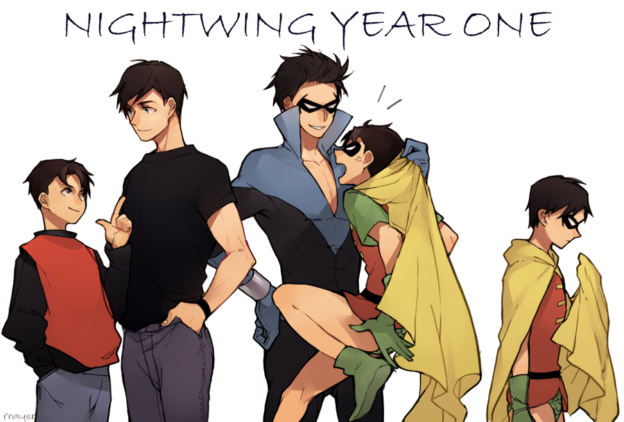 nightwing year one by CircusMayer