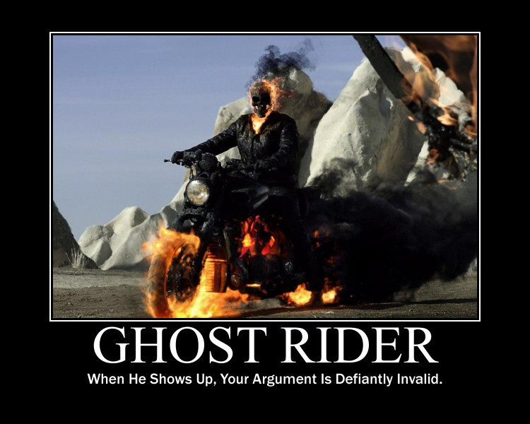 Ghost Rider Motivation by Leonar-Cousland