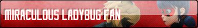 Miraculous Ladybug FAN Button by Mistermisterio