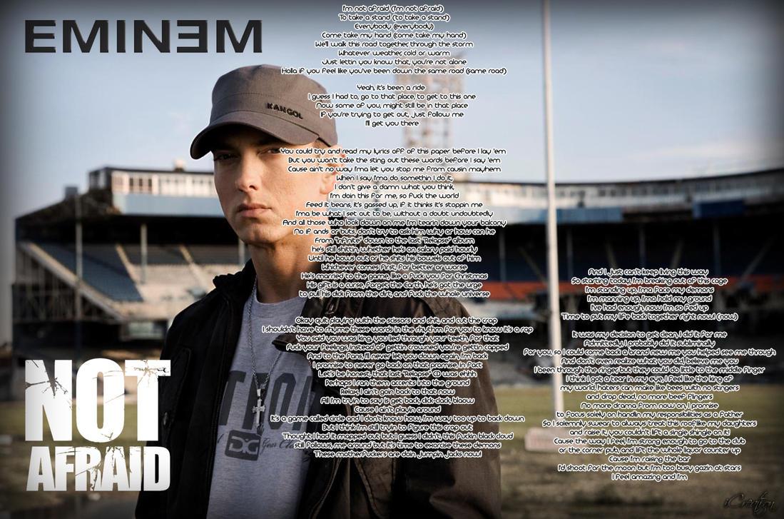 Eminem Quotes Not Afraid Eminem Not Afraid Lyri...