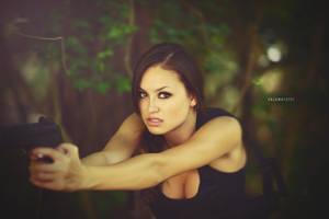 Angel as Lara Croft by Enigma-Fotos