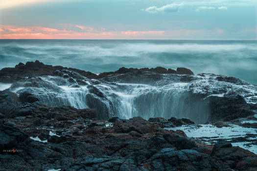 Evening At Thor's Well