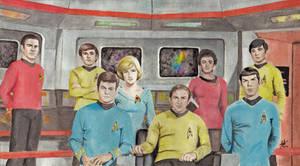 Star Trek- TOS Crew