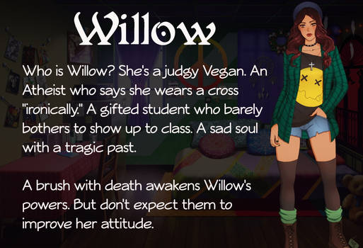 Willow Character Card