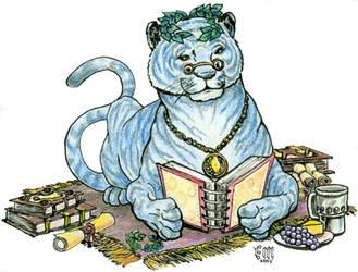 Blue Laurel Tiger by misphred