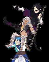 Guards' leaders of Eldarya