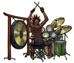 drummer boy by NIW